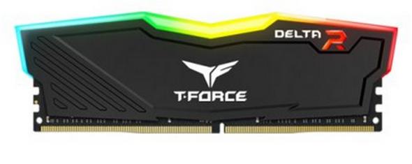 Team Delta RGB DDR4 16GB (1x16GB) DRAM 3200MHz Black
