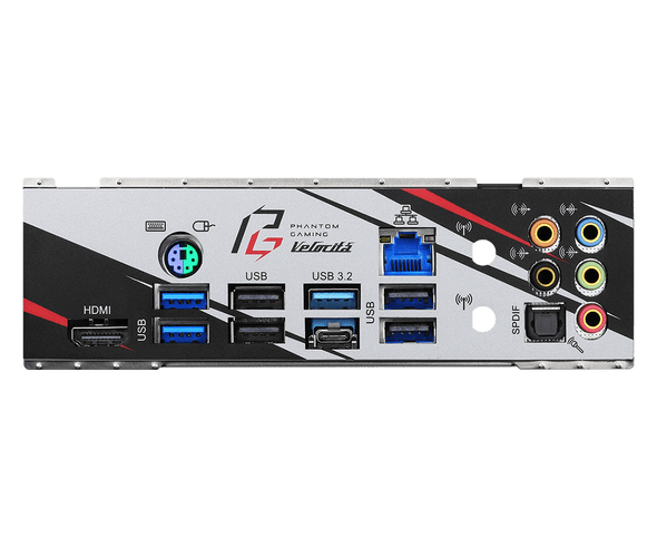 AMD B550; 4 DDR4 DIMM; PCIe 4.0 x16, PCIe 3.0 x16, 2 PCIe 3.0 x1, M.2 WiFi Key E;6 SATA3, Hyper M.2 (PCIe), M.2 (PCIe); 3 USB 3.2 Gen2, 4 USB 3.2 Gen1