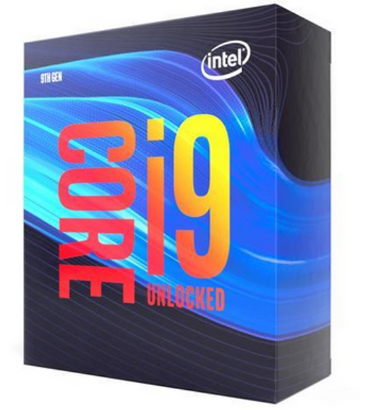 Boxed Intel Core i9-9900K Processor (16M Cache, up to 5.00 GHz) FC-LGA14A Rectangle box packaging