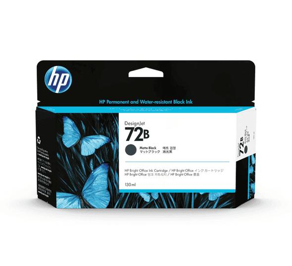 HP 72B 130ML MATTE BLACK INK 3WX06A