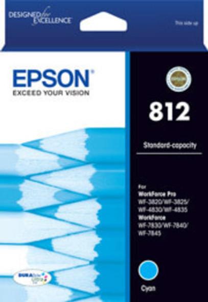 Epson 812 Cyan Ink