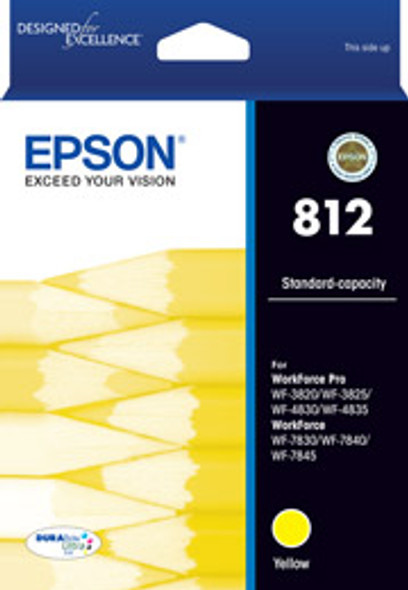 Epson 812 Yellow Ink