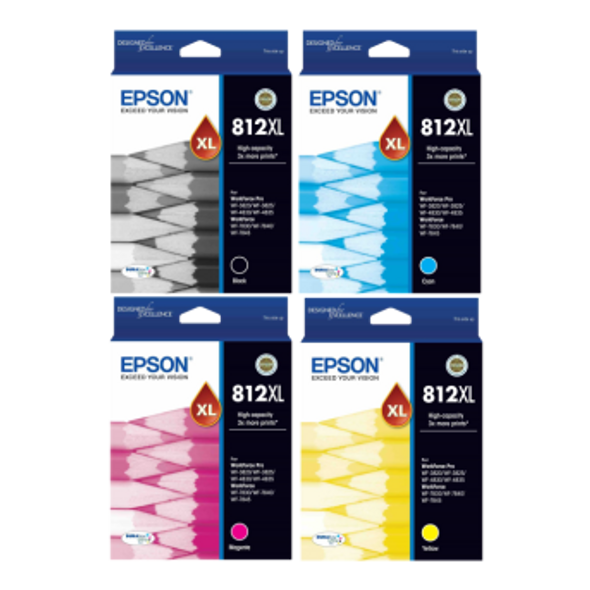 Epson 812XL Value Pack