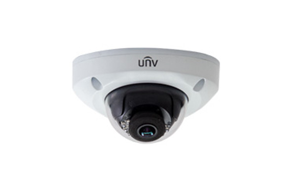 UNIVIEW IPC314SR-DVPF28 4MP IR ULTRA 265 OUTDOOR DOME IP SECURITY CAMERA