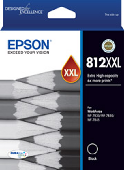 Epson 812XXL Black Ink