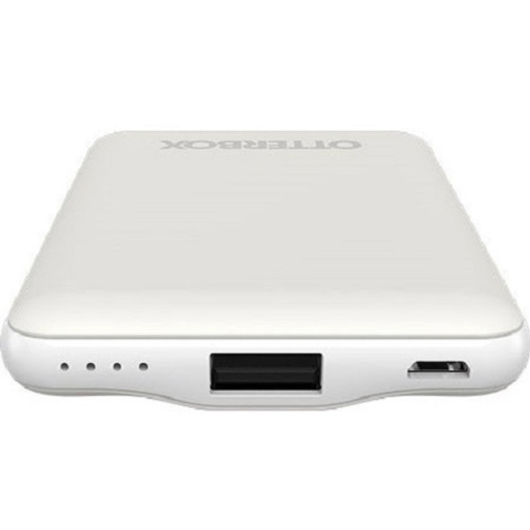 OtterBox 5K mAh 3-In-1 Power Bank - Mobile Charging Kit - White