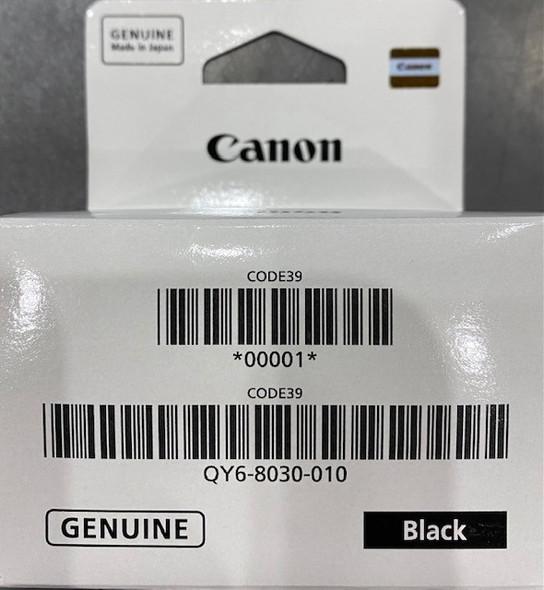 Canon Genuine Printhead QY6-8030 Black  Megatank Gseries