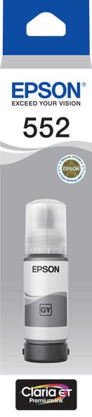 Epson T552 - Claria EcoTank - Grey Ink Bottle