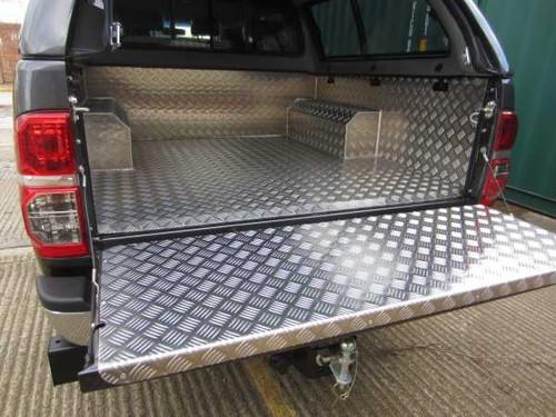 Aluminium Bed Liner _fr_ Bac de benne en aluminium