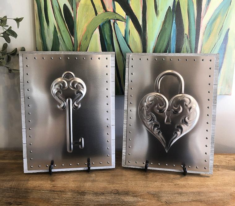Heart Locket & Heart Key