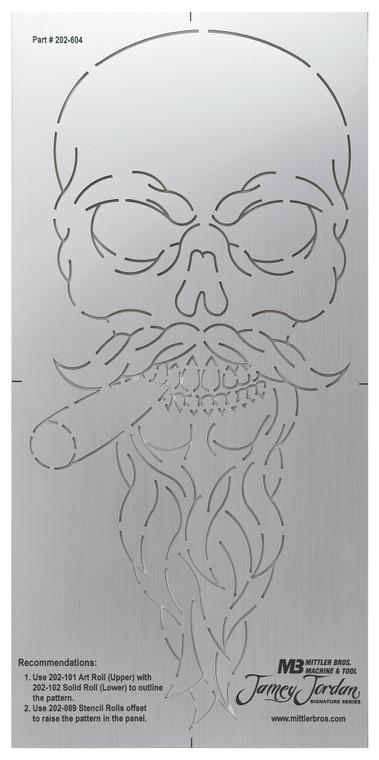 Skull 1 Stencil