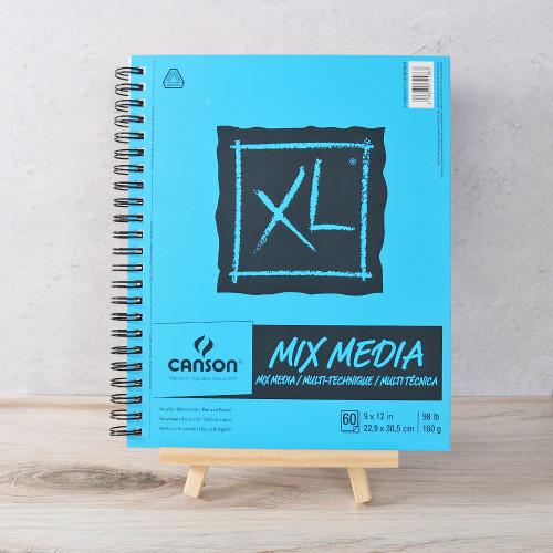 """Mix Media Paper Book - 9"""" X 12"""""""