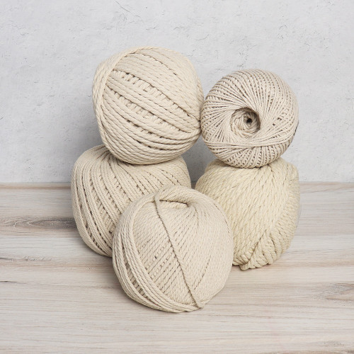 Natural Cotton Rope Balls