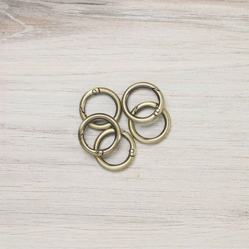 3/4 Inch Gated O-Rings - Multiple Colors