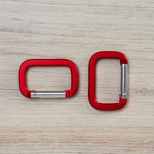 Rectangle Carabiners - Multiple Colors