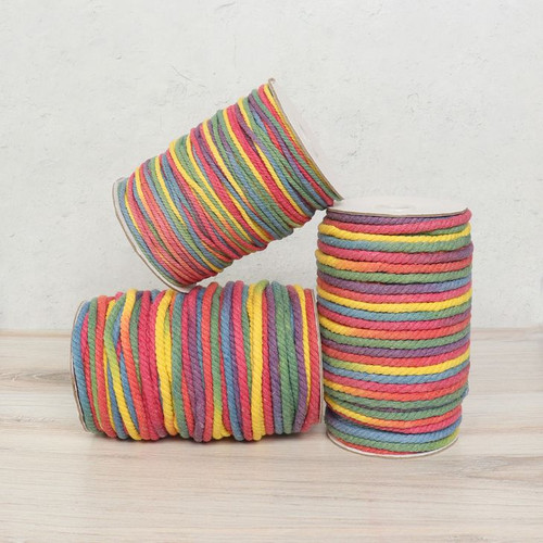 Rainbow Cotton Rope