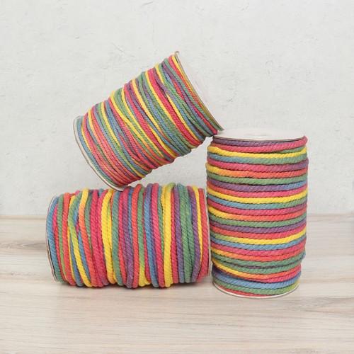 Rainbow Cotton Rope