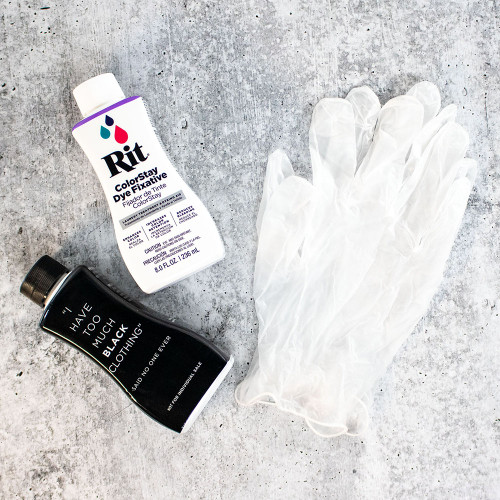 Rit Back to Black Dye Kit - Main