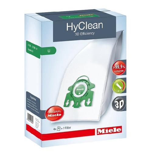 Miele S7000 Series Type U Hyclean Bag Pack (Genuine)