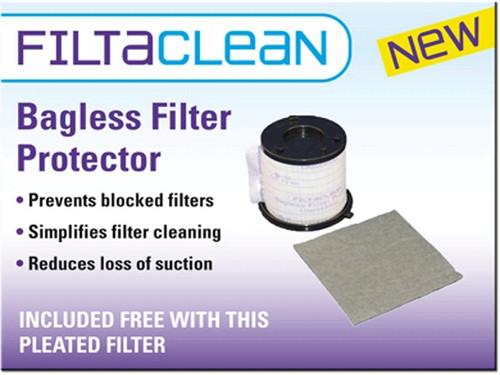 Asda UDI8005 HEPA Filter Pack with FiltaClean