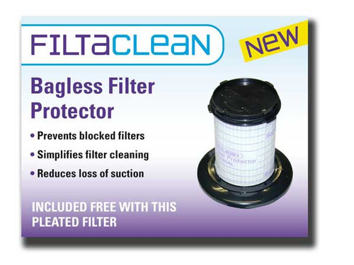 Tesco VC008 & VCMOP10 HEPA Filter Pack with FiltaClean