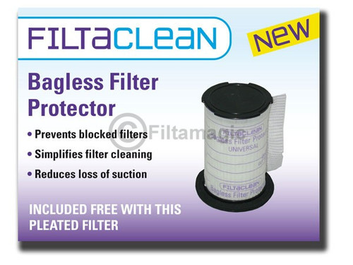 Asda CBU5-D1 Series HEPA Filter with FiltaClean
