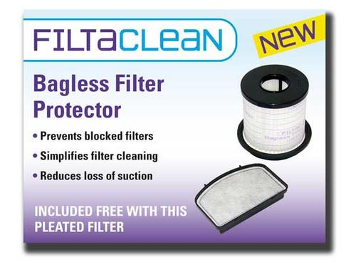Dirt Devil DCU012 & DUC023 Filter Pack with Filtaclean