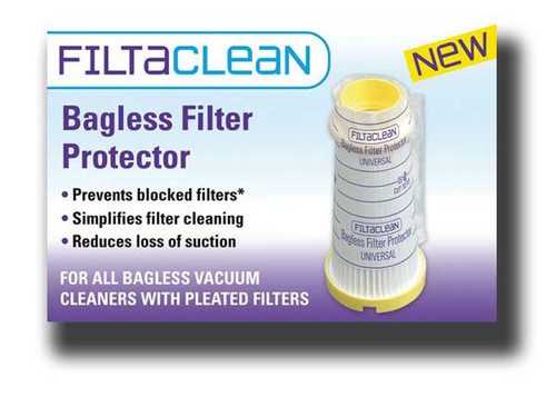 FiltaClean Universal Bagless Vacuum Cleaner Filter Protector