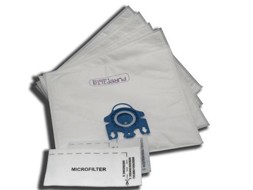 Miele G & N Purefilta HEPA Bag & Filter Pack (5+2)
