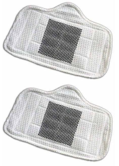 Home-Tek HT800 Series steam mop scrub pads Pack (2)