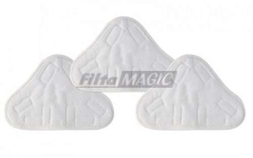 H2O X2, X5, X10 Series Triangular Microfibre Cleaning Pads Pack (3)