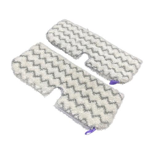 Shark S3501-S3901 XL Large Steam mop Microfibre & scrubbing Pockets Pack (2)