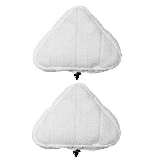 Vytronix STM01 10 in 1 Replacement triangular steam mop pads Pack (2)