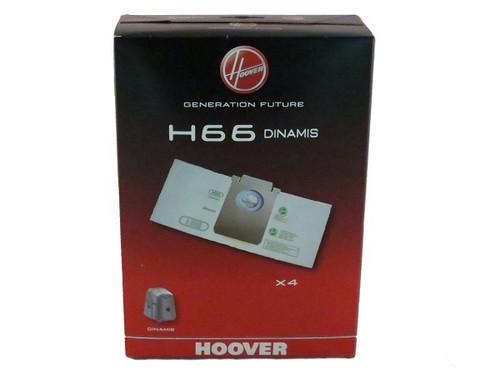 Hoover Genuine H66 Vacuum Cleaner Paper Bag Pack (4)