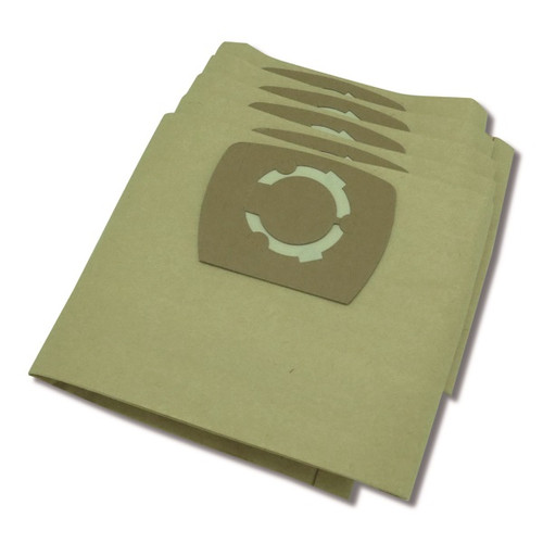 Inox 1250 PAPER Vacuum Cleaner Paper Bag Pack (5)
