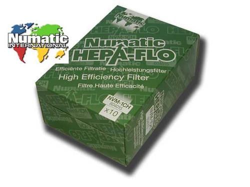 Numatic Genuine Henry HEPA-FLO Vacuum Cleaner Bag Pack (10)