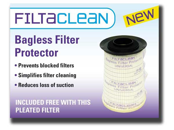 Asda CBU1 & 4 Series HEPA Filter with FiltaClean