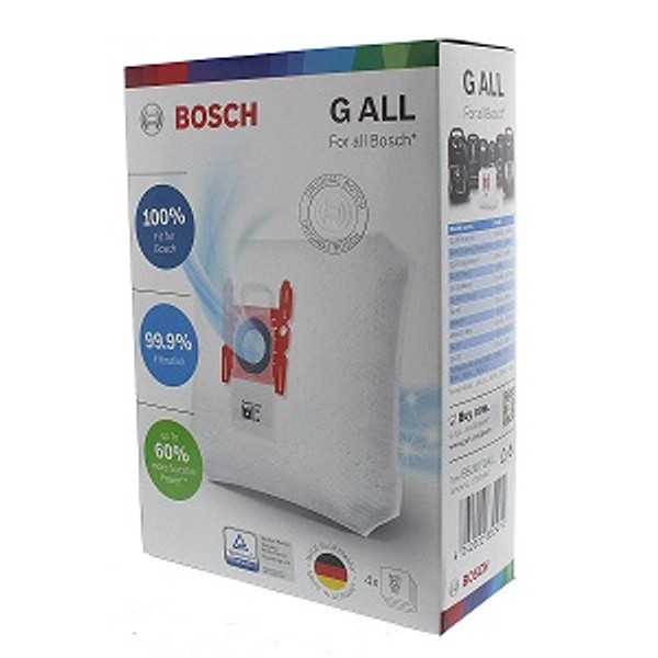 Bosch Type G ALL Plus Power Protect Genuine Vacuum Cleaner Bag Pack (4)