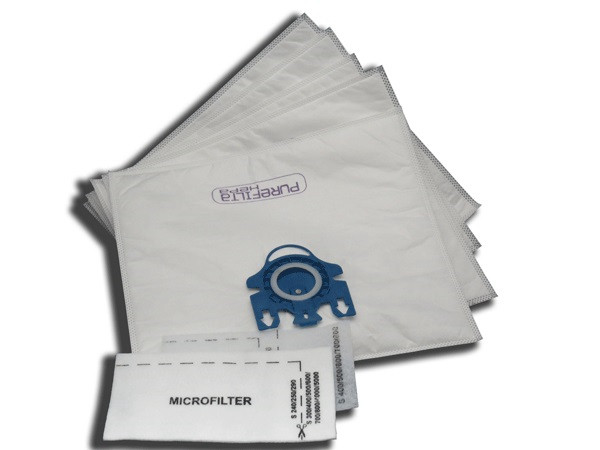 Miele G & N Purefilta HEPA Bag & Filter Pack (5)