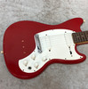 USA Kalamazoo KG-2 electric guitar in red finish with case