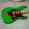 """2021 USA Jackson Custom Shop """"Jewel"""" Dinky HSH in slime green finish with case"""