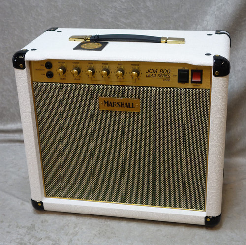 Marshall SC20C JCM 800 1x10 guitar combo in white LIMITED