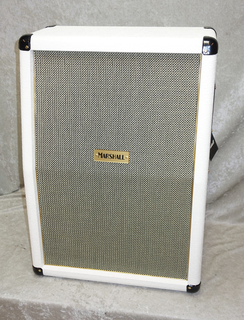 In Stock! Marshall SC212 2x12 guitar cabinet in white LIMITED