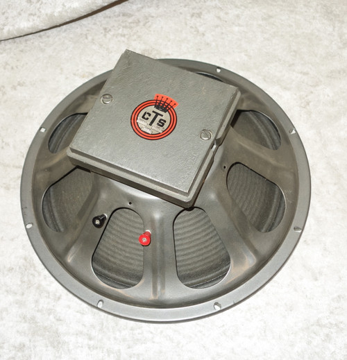 """Vintage CTS 15"""" guitar speaker 5G54L"""