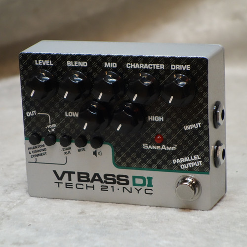 Tech 21 NYC VT Bass DI pedal VTBDI