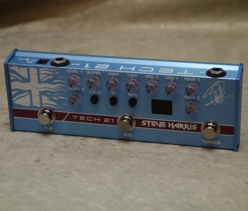 Tech 21 NYC Steve Harris Signature SH1 Sansamp bass pedal