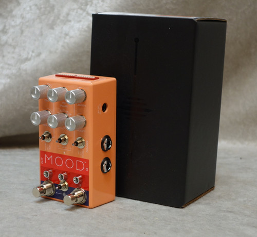 NEW! Chase Bliss MOOD Granular Micro Looper and delay pedal