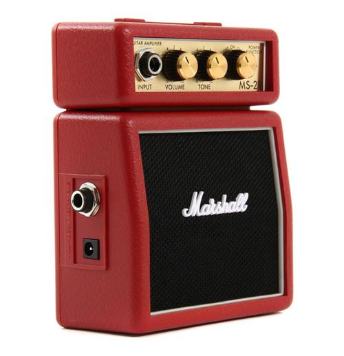 Marshall MS-2R 1-watt micro amp in red