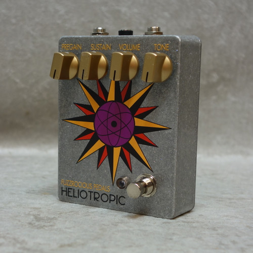 In Stock! Fuzzrocious Heliotropic fuzz pedal
