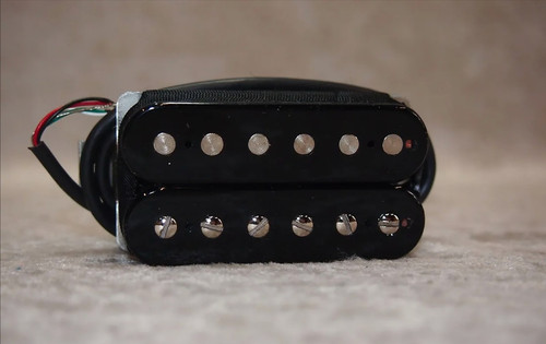 NEW! Bare Knuckle Ragnarok bridge black coils standard spacing and nickel screws